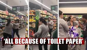 Image result for fighting over toilet paper