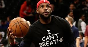 No fines for LeBron James or others over 'I Can't Breathe' shirts NBA  protest